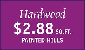 Painted Hills Hardwood flooring $2.88 sq.ft. at Floors to Go in Anniston