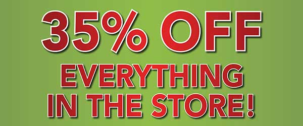 Save 35 percent off everything in store at Floors to Go in Anniston